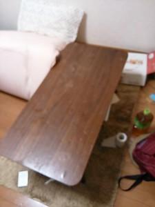 テーブル処分 埼玉県 草加市 中根 テーブル回収 不用品全処分 引越しゴミ処分 引越しゴミ回収 遺品整理 冷蔵庫処分 冷蔵庫回収 レンジ処分 レンジ回収