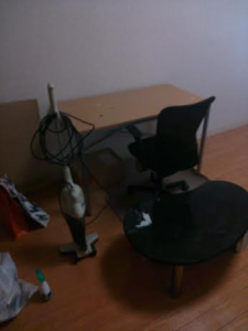 デスク処分 イス回収 事務椅子処分 デスク回収 テーブル回収 テーブル処分 掃除機回収 掃除機処分 千葉県 市川市 妙典