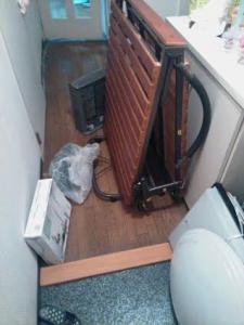 折り畳みベッド処分 折り畳みベッド回収 天井照明処分 天井照明回収 東京都 江東区 東砂