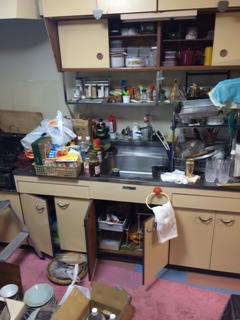 浦安市 遺品整理 キッチン周り