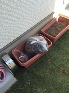 園芸土の回収を致しました。