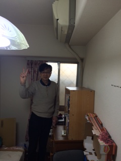 浦安市でエアコンの回収