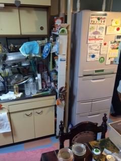 浦安市 遺品整理 冷蔵庫