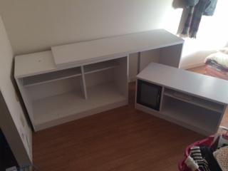 板橋区で机を回収しました。