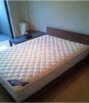 マットレス一体式ベッド(脚付きベッド)